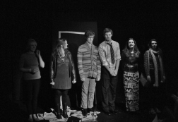 The cast of A Female Triptych